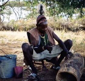 Imker in Südäthiopien © Horst Hahn