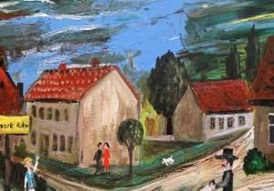 Dorf in der Altmarkt