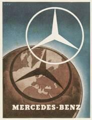 Werbung Mercedes 1939
